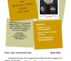 Annual Fall Gala – November 22, 2014
